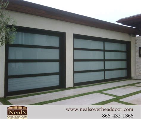 modern overhead door neals custom garage doors contemporary garage doors