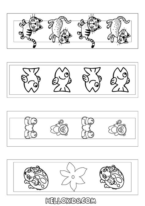 printable animal bookmarks to color how to craft cute animal bookmarks coloring page