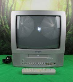 Tv Tabung Toshiba 14 Inch toshiba mw24f12 24 crt tv dvd vhs vcr player combo color gaming television cctv common
