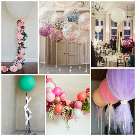 Decorating A Room With Balloons by Wedding Balloons