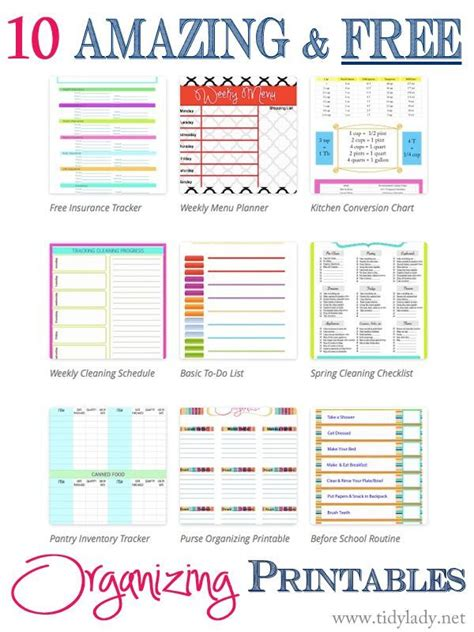 16 free printables to organize your life chloe isabel 16 best printable fun stuff images on pinterest free