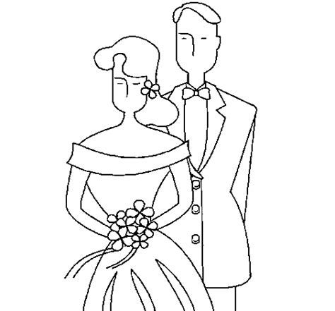 Color Bride Groom Coloring Pages And Groom Coloring Page