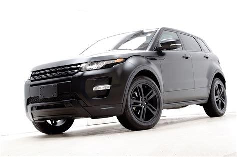 land rover evoque black modified custom flat black 2012 range rover evoque dynamic