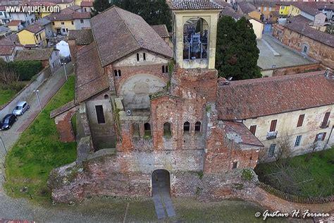 lomello pavia la facciata della basilica di santa di lomello vista