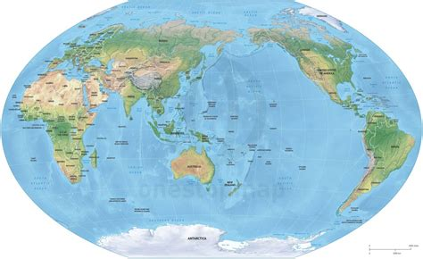australia in the world map location of new prtty me for ellstrom me