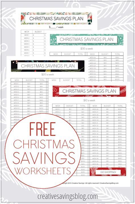 printable christmas savings plan the smart way to save for christmas