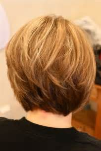 vies of side and back of wavy bob hairstyles back view images of stacked bob african american long