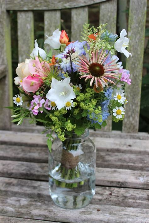 Wedding Bouquets Yeovil by 157 Best Jam Jar Flowers Images On Floral