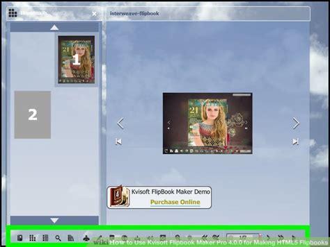 flipbook html5 template how to use kvisoft flipbook maker pro 4 0 0 for