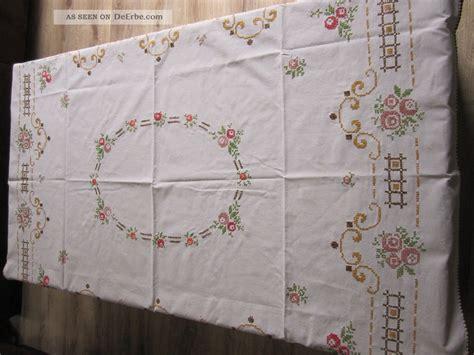 tischdecken handarbeit tischdecke stickerei handarbeit