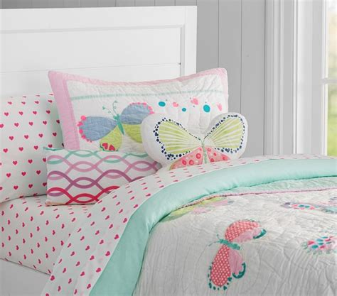 butterfly bedding butterfly quilted bedding pottery barn
