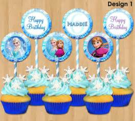frozen cupcake toppers disney frozen cupcake toppers