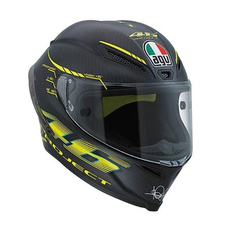 Helm Agv Vr 46 how they make it helm vr 46 ride alone