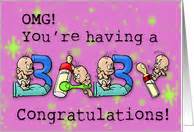 congratulations on pregnancy cards from greeting card universe