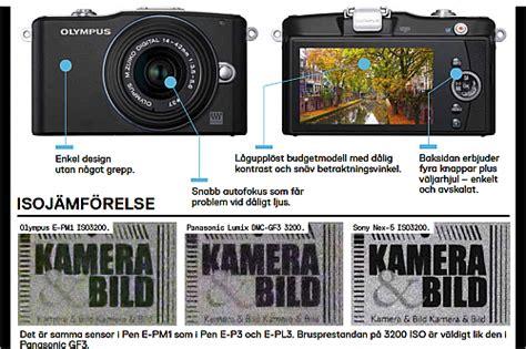 Kamera Olympus Pen Mini E Pm1 test av olympus pen mini e pm1 kamera bild