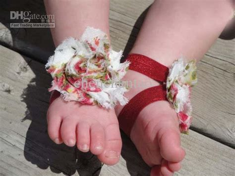 how to make baby barefoot sandals with ribbon baby barefoot sandals baby ribbon bows baby shoes handmade