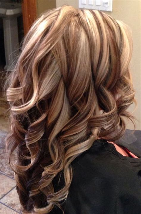 pinterest brown hair with blonde highlights brown hair with blonde highlights and auburn lowlights
