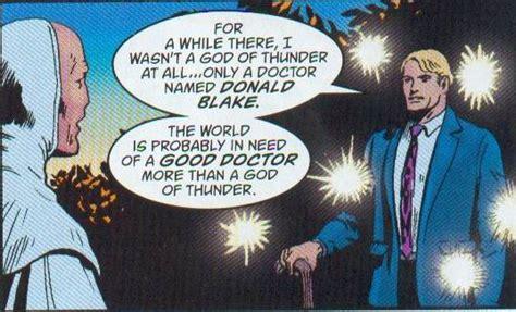 thor film donald blake the problem with donald blake thor comic vine