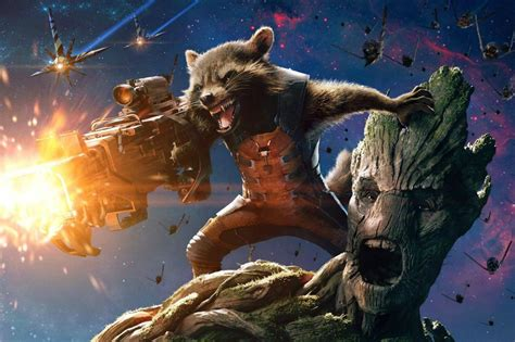marvel film groot vin diesel hints at a groot rocket raccoon guardians of