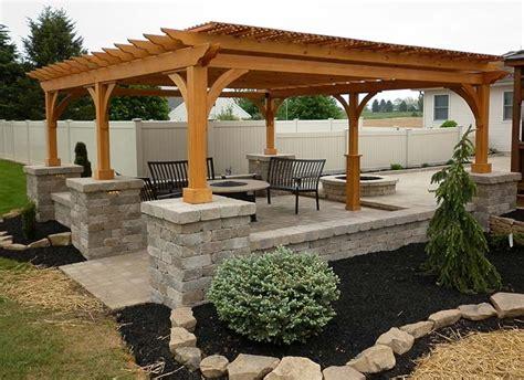 outdoor pergolas home design ideas quiet corner