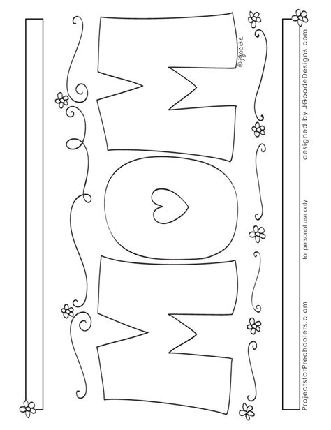coloring pages i love you mom i love you mom coloring