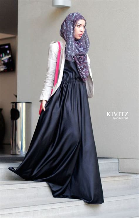 Dress Satin Hijaber Aulia satin hijabs and fashion on