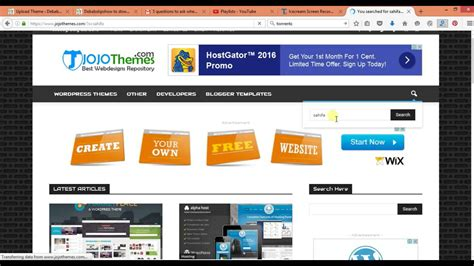 wordpress tutorial video 2016 how to download any premium wordpress theme and plugin for