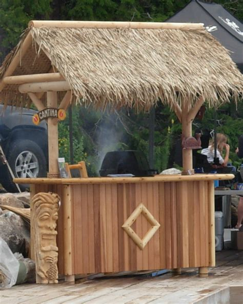 Tiki Bar Thatch Roof Thatch Roofing Bamboo Toronto