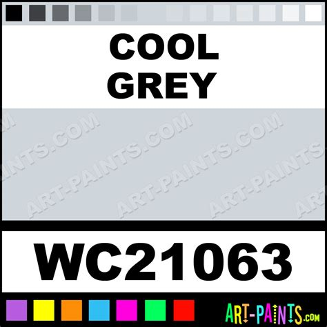 cool gray paint colors cool grey artist 36 set watercolor paints wc21063 cool