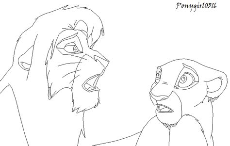 lion king kovu and kiara coloring pages the gallery for gt kovu and kiara coloring pages