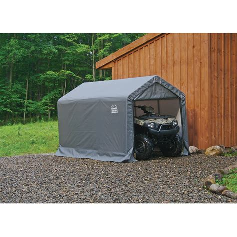 Snowmobile Storage Shed by Shelterlogic Sport Shed In A Box Snowmobile Motorcycle