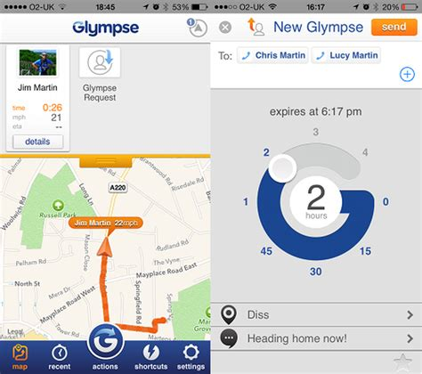 Apps To Find S Location Glympse App Review Free Location Tech Advisor