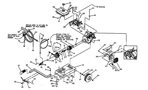 craftsman pressure washer parts diagram craftsman power washer parts model 580751650 sears