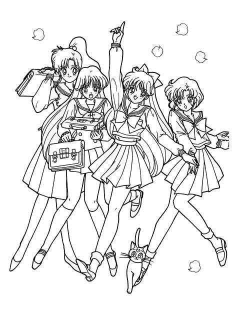 sailor moon coloring pages games coloring page sailormoon coloring pages 117