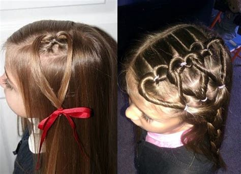 cute girl hairstyles valentine s day cute yet amazing valentines day hairstyles ideas for girls