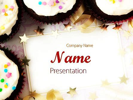 Birthday Invitation Powerpoint Template Backgrounds 11709 Poweredtemplate Com Powerpoint Birthday Invitation Template