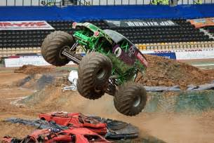 monster truck rally videos how to survive a monster truck rally