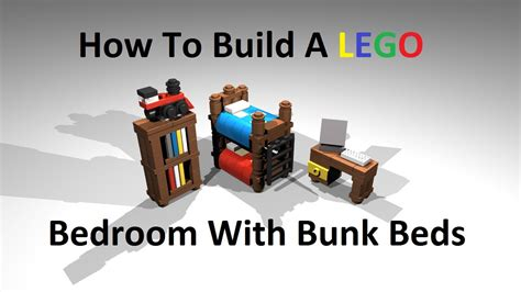 how to make a lego bed how to build a lego bedroom with bunk beds custom moc