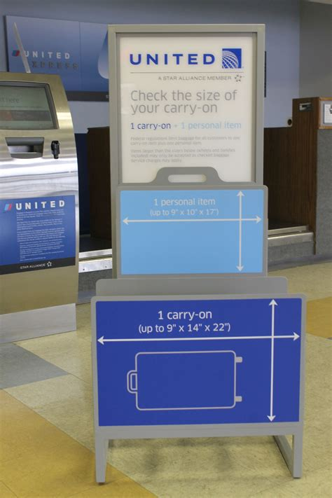 ua checked baggage carry on luggage size lookup beforebuying