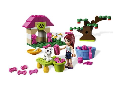 lego friends dog house mia s puppy house 3934 friends lego shop
