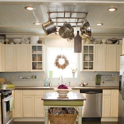 Kitchen Island With Pot Rack by Copper Pot Rack Over Island Decor Laundry Amp Kitchen