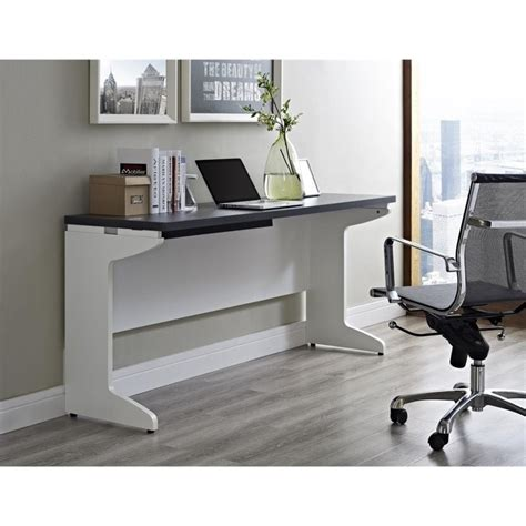 Gray Computer Desk by Altra Furniture Pursuit Credenza White Gray Computer Desk Ebay