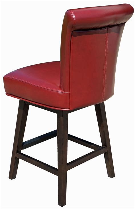 Restaurant Chairs Stools Booths Red Rollback Swivel Counter Chairs Swivel