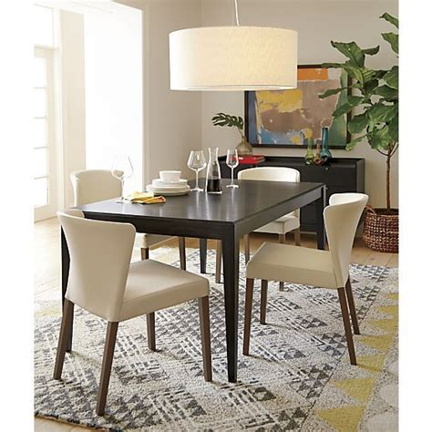 dining room tables crate and barrel crate and barrel dining table dining tables