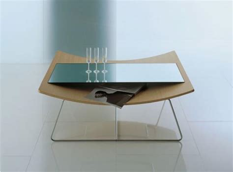 Modern Glass Coffee Table Designs Glass Furniture Table Designs