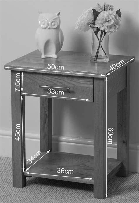 oslo solid oak l table modern furniture direct