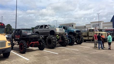 monster truck show in philadelphia fleet of monster trucks conducts rescues in flood ravaged