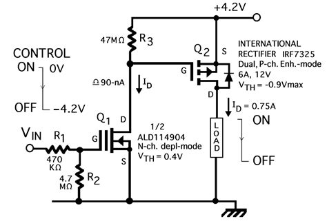 an enhancement mode mos voltage controlled linear resistor with large dynamic range reduce power consumption by redesigning normally on load switches with zero power mosfets ee times