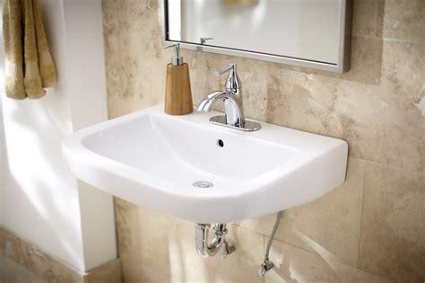 Wicker Park? Single Hole Wall Hung Bathroom Sink   Gerber