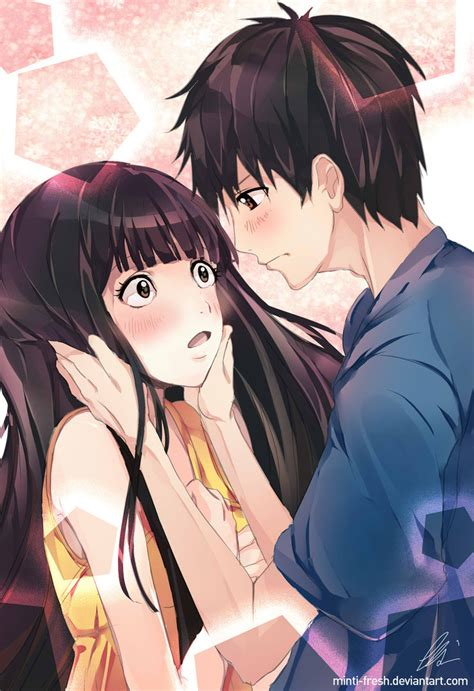 anime kimi no nawa episode 1 finally i reached you by minti fresh on deviantart